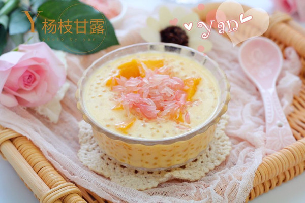 经典港式甜品--杨枝甘露的做法