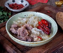 银耳牛肉汤#新年开运菜,好事自然来#的做法