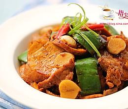 【膳食】素鸡青椒肉片的做法
