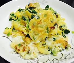 香葱炒蛋的做法