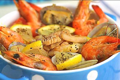 西班牙超人气海鲜烩饭:DIY【西班牙海鲜烩饭】