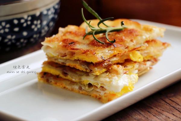 饺子皮变身葱油饼的做法
