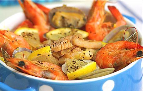 西班牙超人气海鲜烩饭:DIY【西班牙海鲜烩饭】的做法
