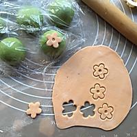 菠菜小花馒头#柏翠辅食节-辅食添加#的做法图解10