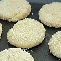 肉松千层芝麻饼 宝宝辅食食谱的做法图解16