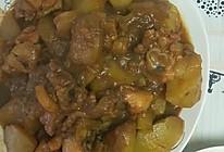 #美食视频挑战赛# 奥尔良鸡腿炖土豆的做法