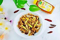 家常菜~炒鸭肠太太乐鲜鸡汁蒸鸡原汤的做法