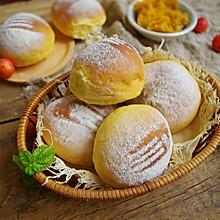红薯豆沙软面包(冷藏中种法)#好吃不上火#