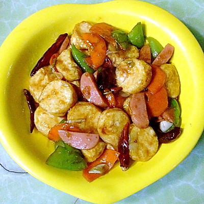 红烧小炒日本豆腐
