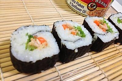 金枪鱼苦菊寿司