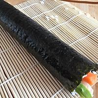 #爽口凉菜,开胃一夏!#肉松寿司卷的做法图解13