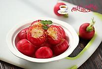 桂花糖醋樱桃萝卜#舌尖上的春宴#的做法