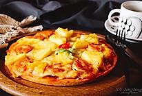 #春季食材大比拼#夏威夷风情披萨的做法