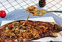 蒜味十足的烤茄子的做法