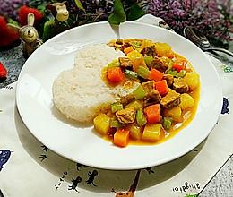 咖喱土豆猪肉盖饭#奇妙咖喱,拯救萌娃食欲#的做法