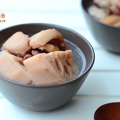 【墨鱼莲藕汤】——滋阴润燥的鲜汤