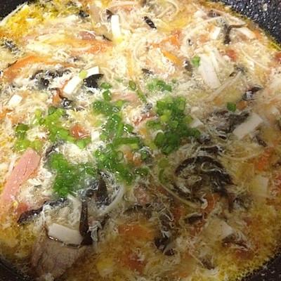 酸辣蔬菜汤