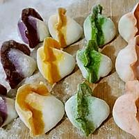 超级彩色饺子。。的做法图解9
