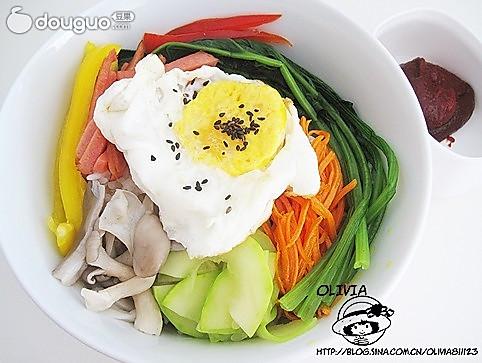 韩式家常拌饭的做法
