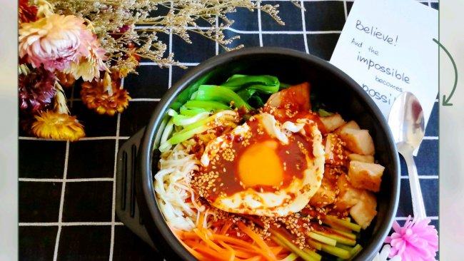 私房菜谱#创新改良的韩国石锅拌饭的做法