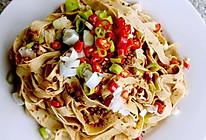 川味红油豆皮(凉拌菜万能调味汁)的做法