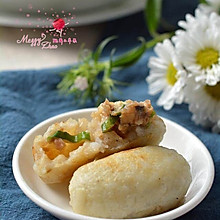 土豆米饭香菇团子