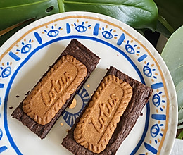 网红焦糖饼干布朗尼的做法