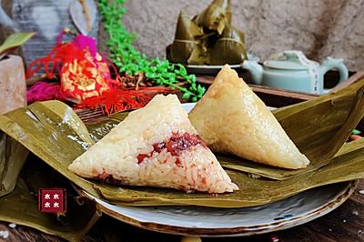 超经典的红豆蜜枣粽