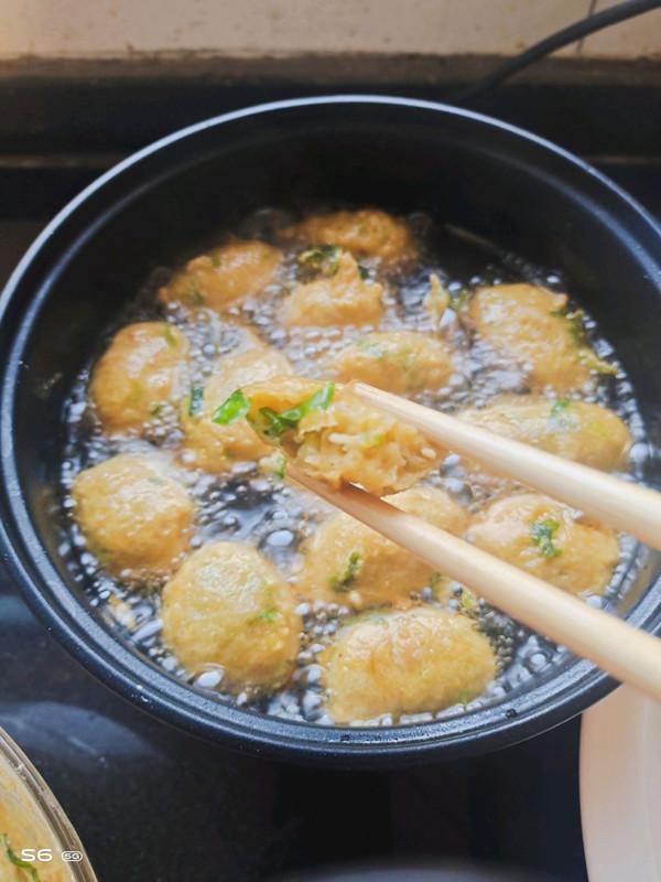 金针菇丸子的做法