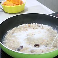番木瓜牛奶燕麦粥 & 冬瓜花生酱三明治(低糖低热量)的作法流程详解2