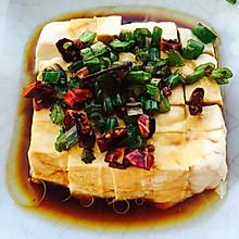 葱油拌豆腐
