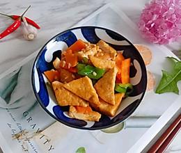 #夏日消暑,非它莫属#下饭蒜香煎豆腐的做法