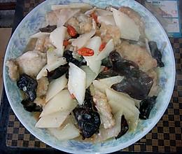 枸杞子山药烩龙利鱼的做法