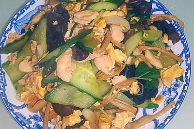 家常制作鲁菜传统名菜——木樨肉