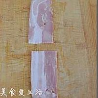 香菇培根卷的做法图解3