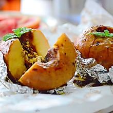法式肉桂坚果烤苹果
