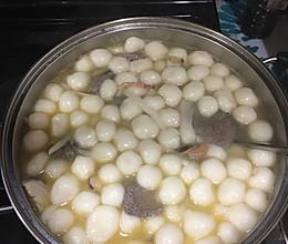 台山咸汤圆的做法