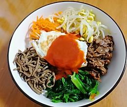#我要上首焦#色香味营养俱全的韩国拌饭的做法