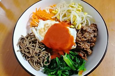 色香味营养俱全的韩国拌饭