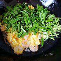 韭菜虾仁炒蛋的做法图解6