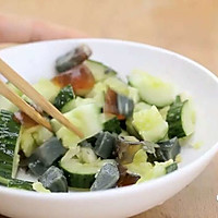 健康便当15(豆腐鸡胸肉饼+胡萝卜炒口蘑)的做法图解5
