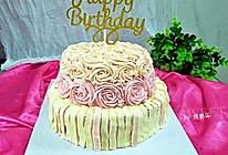 奶油裱花蛋糕#相约MOF#的做法