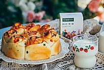 #爱乐甜夏日轻脂甜蜜# 香葱番茄沙拉酱玫瑰花手撕面包的做法