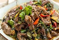 花椒叶炒牛肉|麻辣鲜香的做法