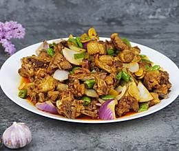 #父亲节,给老爸做道菜#青椒生炒山鸭肉的做法