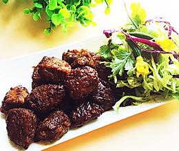 极品黑椒牛肉粒#德国miji爱心菜#的做法