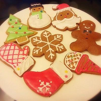 姜饼人及圣诞饼干