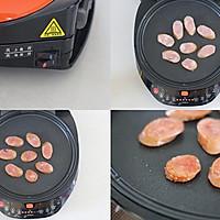 利仁电饼铛试用之煎焖子蘸蒜汁的做法图解2