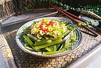#爽口凉菜,开胃一夏!#凉拌海带丝的做法