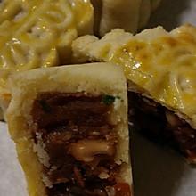港式酥皮月饼